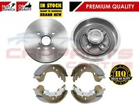 FOR NISSAN MICRA K12 2002-2011 REAR HIGH QUALITY BRAKE DRUMS SHOES