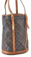 Authentic Louis Vuitton Monogram Bucket GM Shoulder Bag M42236 LV B1910