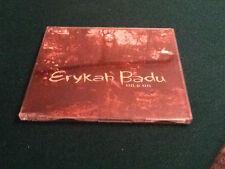 CDs ERYKAH BADU ON & ON CAT. UND 56117, 1998 CINQUE TRACCE MTH