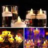 24 Candele LED senza fiamma tremolare impermeabile a batteria luci tè Matrimonio