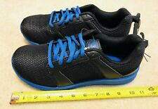 Athletic Works Mens Size 7.5 Wide Black & Blue Tennis Shoes