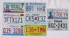 Route 66 USA 8 Stück original Nummernschilder License Plate im Set