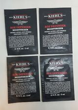 KIEHL'S - 4 x AGE DEFENDER For MEN  FIRMING LIFTING ANTI WRINKLE - 3ml Samples