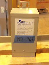 Acme 1.5kva Transformer 1 Single Phase 240v/480v-120v/240v Delta 3R wall mt