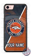 Denver Broncos Football Logo Phone Case For iPhone 11Pro Samsung S10 LG Google
