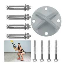 Ceiling Wall X Mount Anchor Set kit-Suspension Trainer Resistance Band Gymnastic