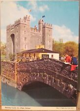 Irish Postcard BUNRATTY CASTLE Durty Nelly's Clare Ireland Nagele Hinde 2/399