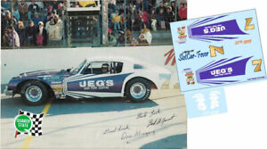 CD_3535-C #7 Don Gregory   1975 Chevy Camaro  1:24 scale DECALS