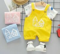 Clothing Overalls Outfit Suit Summer Baby Kids Infant Newborn Clothes Girls Boys