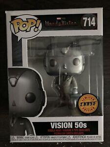 Funko Pop! Marvel Wandavision Vision 50's Limited Edition Chase #714
