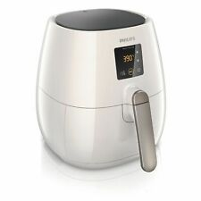 Philips XL Digital Advance Low Fat Air Fryer W Rapid Air Technology HD9240 White