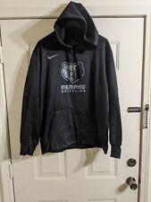 Nike Therma-Aggressor BLACK NBA Memphis Grizzlies Hoodie Mens Dri Fit XL RARE!!