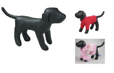 XX-SMALL DOG MANNEQUIN Stuffed Display Model Manequin Clothing Apparel Collar