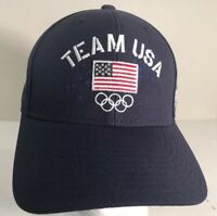 Team USA Sochi 2014 Olympics Baseball Cap Embroidered Hat