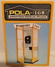 Pola 952 G Scale Telephone Call Box