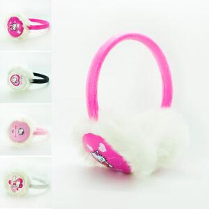 Children Kids Girls Faux Fur Hello Kitty Earmuffs Ear Muffs Soft Warm Winter