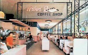 Arbor Room Coffee Shop, Winchester, Virginia VA - Vintage Postcard