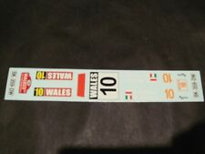 DECALS 1/24 CITROËN DS3 WRC WALLES RALLY 2013 (conversion HELLER)-MF-ZONE DC2418