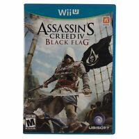 Assassin's Creed IV: Black Flag (Nintendo Wii U, 2013) Complete w/Manual CIB