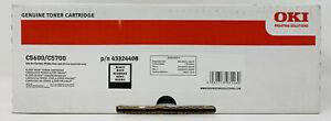 OKI 43324408 Toner Original Black For OKI C5600n/C5600dn/C5700n/C5700dn 6K