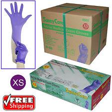 1000/ 3.5mil Soft Nitrile Powder-free Medical Exam Gloves (Latex Vinyl Free) XS