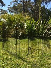 LARGE Somerzby Pet Playpen Extension 8 Panel Run Chicken Rabbit Dog Puppy fence