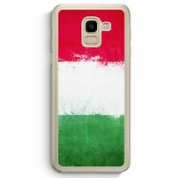 Italien Grunge Italy Italia Samsung Galaxy J6 2018 Hardcase Hülle Handyhülle C
