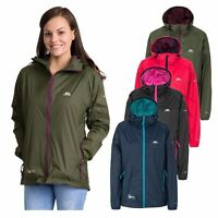 Trespass Womens Waterproof Jacket Packaway Hooded Summer