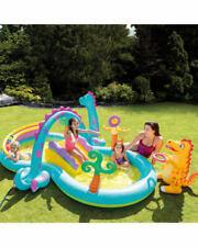 Intex Dinoland Play Centre Oudoor Garden Inflatable Dinosaur Activity Pool