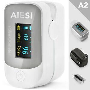 Pulsossimetro professionale da dito con display a colori - saturimetro ossimetro