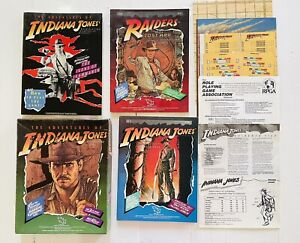 Vintage 1984 The Adventures of Indiana Jones RPG Plus Modules TSR + Extras