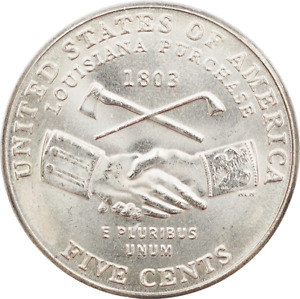 2004 a $2 Roll of 40 USA Nickels Peace P Mint