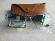 Ray Ban blue / brown frame cat's eye sunglasses. RB4314-N NINA 1283/3F.With case