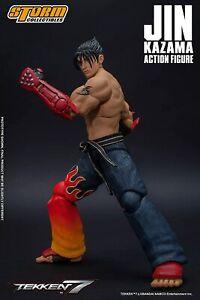 "Storm Collectibles Jin Kazama Action Figure 1/12 Scale Tekken 7  7"" Inch"
