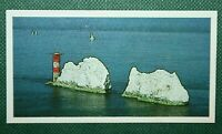 THE NEEDLES   ISLE OF WIGHT   Unmounted Small Photo Card