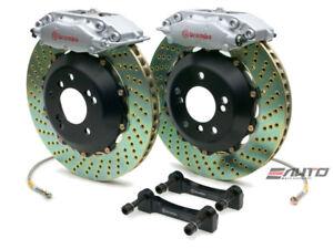 Brembo Rear GT Brake BBK 4piston Silver 345x28 Drill BMW 525 528 530 540 M5 E39