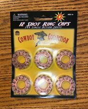 Coyboy Collection 12 Shot Ring Caps 36 Rings 432 Total Shots Ammunition Cap