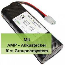 7,2V 2000mAh Graupnerakku NiMH R/C Racing Akku AMP 2490.6