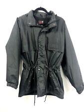 Target Dry Womens XS Jacket Waterproof Waist Drawstring Black Hood