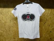 Nuovo T-shirt Collo a V donna S humour motorrad