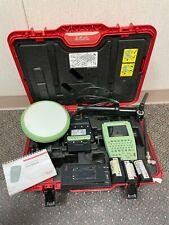 Leica Atx1230 Gg Antenna Rx1250xc Controller Gfu19 Cdma Ght56 Gps Survey Kit