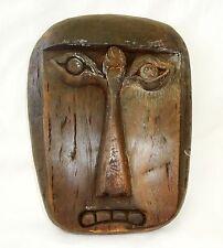 Vintage Indonesian Wooden Tribal Mask (Gem)