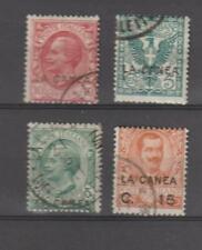 Italia Italie Italy italian areas LEVANTE LEVANT 1906-1912 Crete La Canea TOP $$