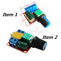 DC 3V-35V/4.5V-35V 5A Motor PWM Speed Control Switch Controller LED Mini Dimmer
