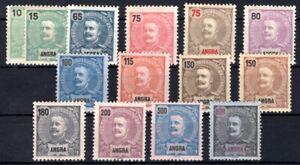 ANGRA 1897 20-26 etc ** POSTFRISCH TADELLOS (M1263