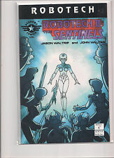 Robotech 2 The Sentinels Book 4 #4 First Printing Comic Book from 1995