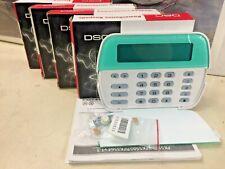 Dsc Pk5500 PowerSeries 64-Zone Lcd Full-Message Alarm Keypad (Lot of 4)