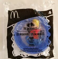 2004 McDonalds The Incredibles DashToy #4 Cake Topper Stocking Stuffer