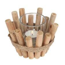 Single Driftwood Candle Holder. Tea Light. Gift. Home