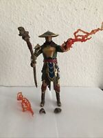 "McFarlane Toys Action Figure Mortal Kombat RAIDEN Merciless Guardian 7"" Loose"